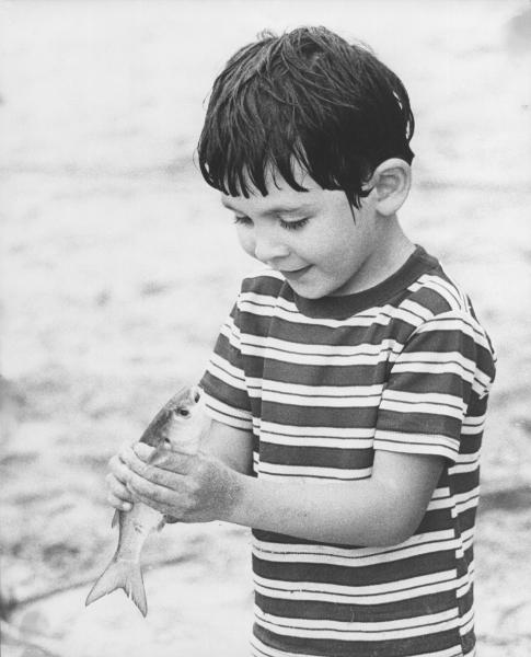Su pasión por los animales comenzó desde pequeño